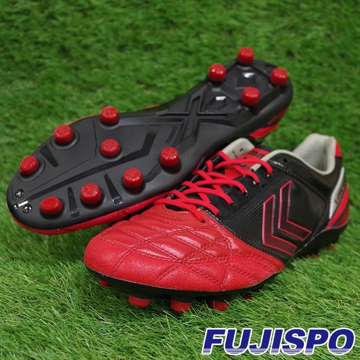 限定 ヴォラートPRO(HAS1234-2090)ヒュンメル サッカー スパイク レッド×ブラック【ヒュンメル/hummel】