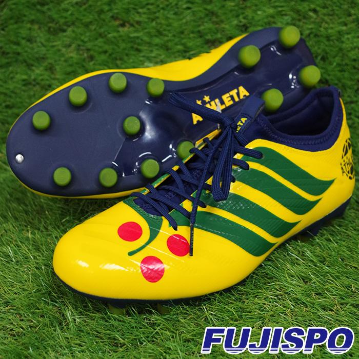 CDB Futebol A001 アスレタ(ATHLETA) サッカースパイク Fイエロー×ネイビー (20001-FYEL-NVY)