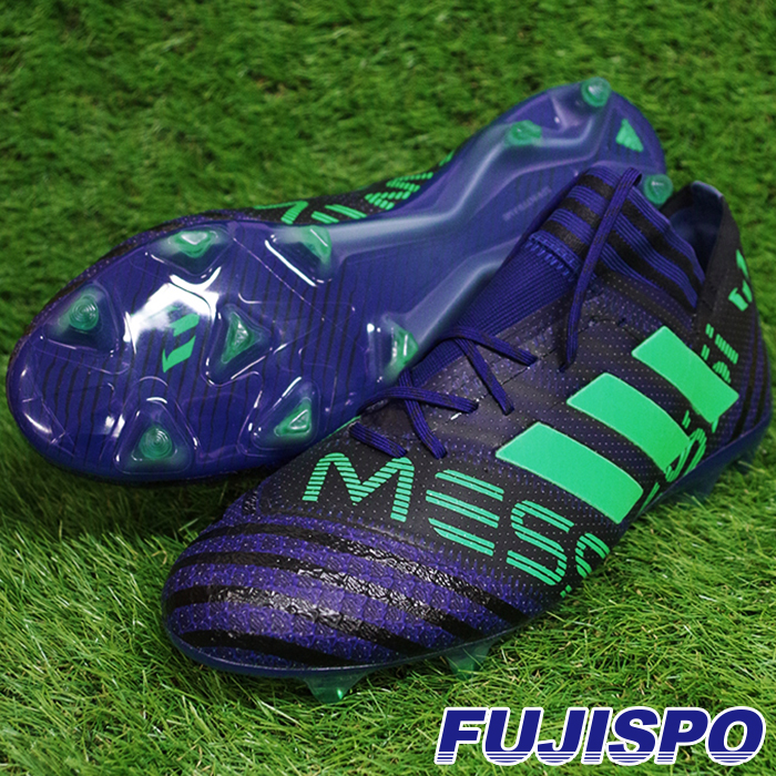 ネメシス メッシ 17.1 FG/AG アディダス(adidas) サッカースパイク ユニティインクF16×ハイレゾグリーンS18×コアブラック (CP9029)