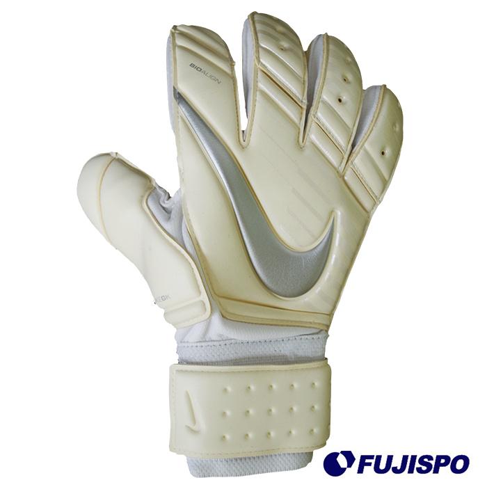 GK プレミア SGT(GS0345-100) キーパーグローブ キーパー手袋 ホワイト×ホワイト×クロムナイキ(NIKE)