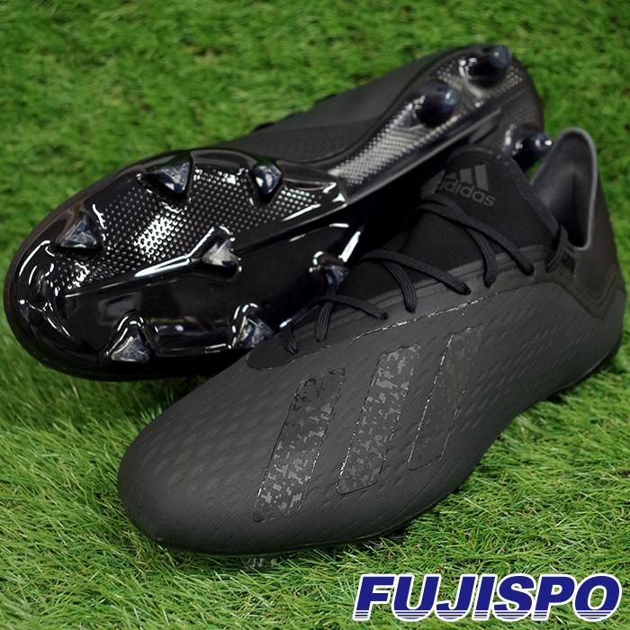 エックス 18.2 FG/AG アディダス(adidas) サッカースパイク コアブラック×コアブラック×ランニングホワイト (DB2182)【2018年7月アディダス】