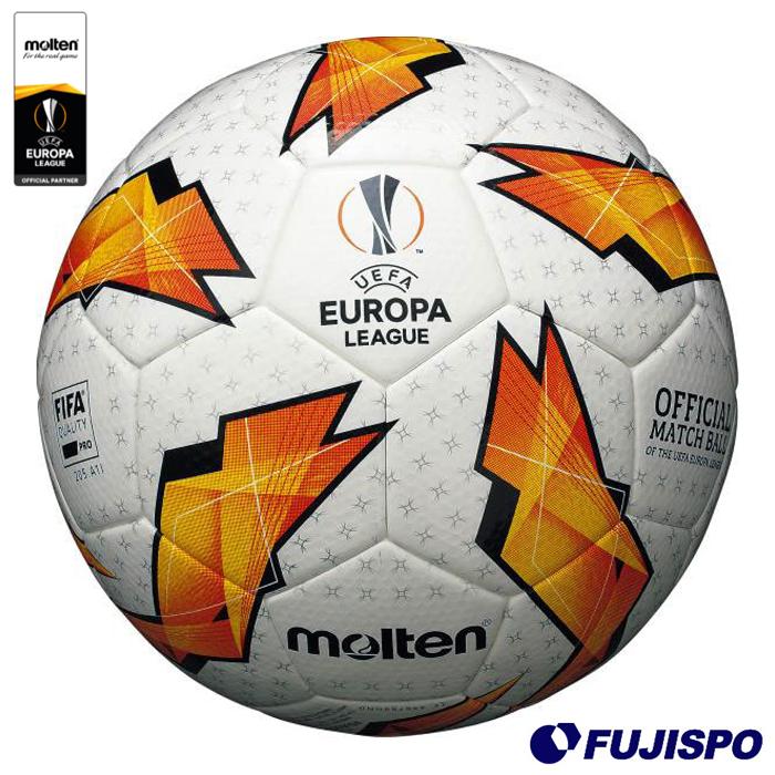 UEFA ヨーロッパリーグ 2018-19 グループステージ 公式試合球(F5U5003-G18) サッカーボール 5号 モルテン(molten)