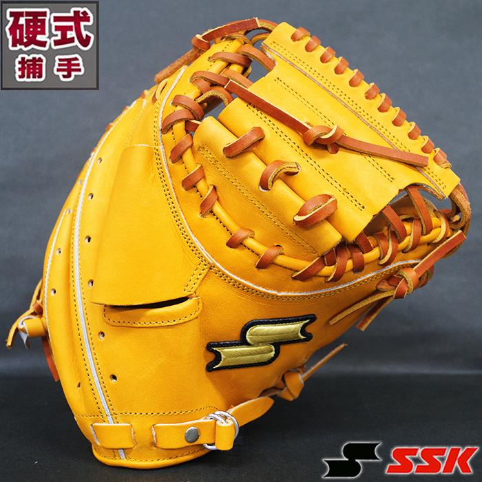 硬式 キャッチャー ミット エスエスケイ(SSK) 【野球・ソフト】 捕手 グラブ グローブ 右投げ (SPM120-3747)
