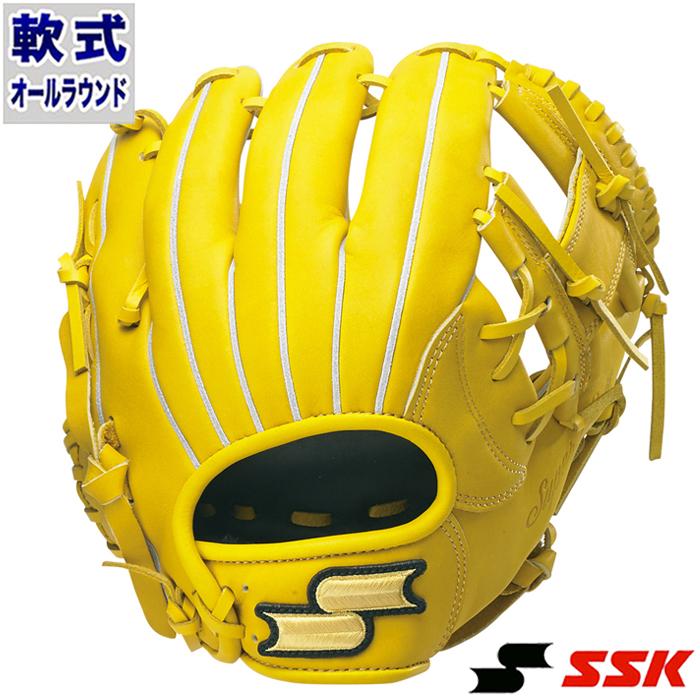 軟式 グラブ スーパーソフト オールラウンド エスエスケイ(SSK) 【野球・ソフト】 グローブ 右投げ (SSG840F-45)