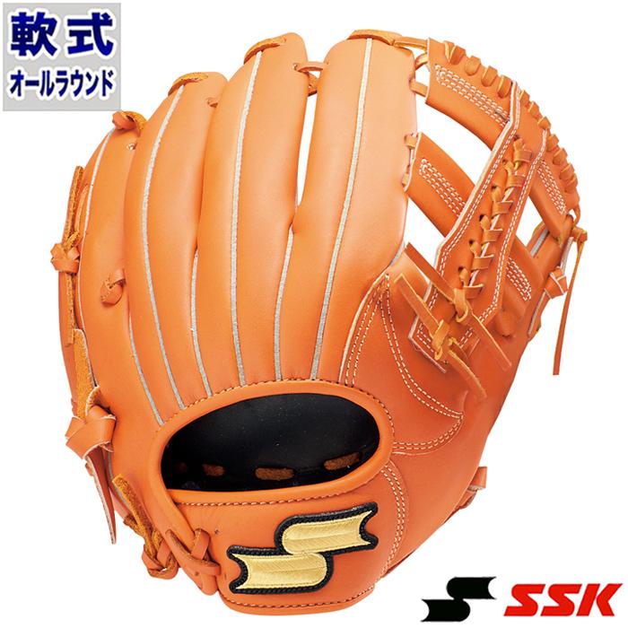 軟式 グラブ スーパーソフト オールラウンド エスエスケイ(SSK) 【野球・ソフト】 グローブ 右投げ (SSG850-35)