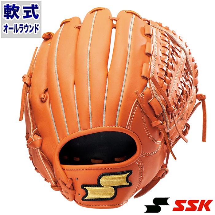 軟式 グラブ スーパーソフト オールラウンド エスエスケイ(SSK) 【野球・ソフト】 グローブ 右投げ (SSG860-35)