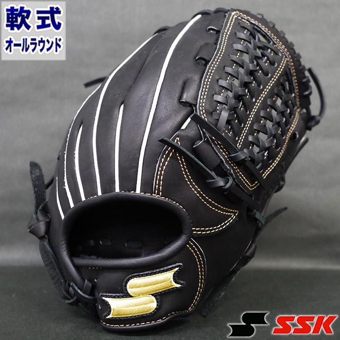 軟式 グラブ スーパーソフト オールラウンド エスエスケイ(SSK) 【野球・ソフト】 グローブ 右投げ (SSG860-90)