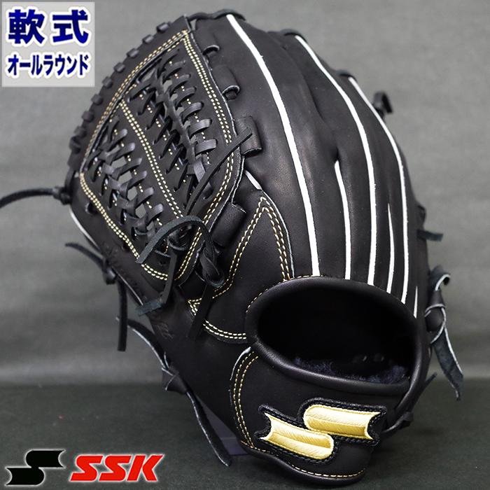 軟式 グラブ スーパーソフト オールラウンド エスエスケイ(SSK) 【野球・ソフト】 グローブ 左投げ (SSG860-90H)