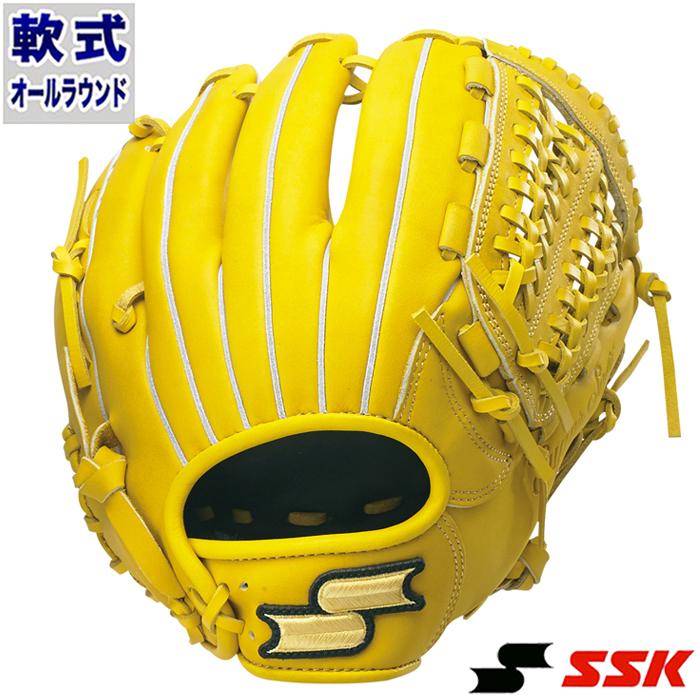 軟式 グラブ スーパーソフト オールラウンド エスエスケイ(SSK) 【野球・ソフト】 グローブ 右投げ (SSG860F-45)