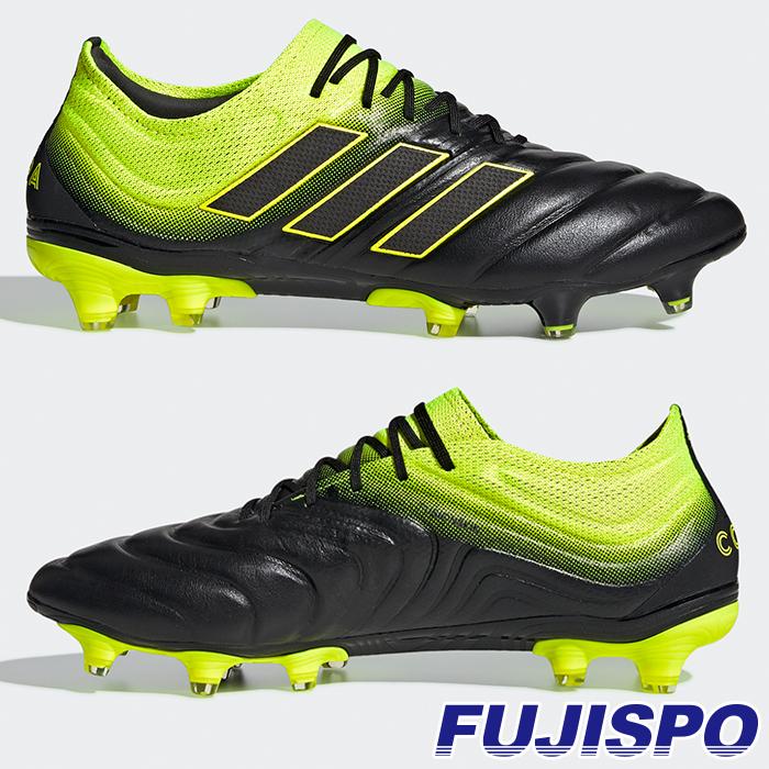 コパ 19.1 FG/AG アディダス(adidas) サッカースパイク コアブラック×ソーラーイエロー×コアブラック (BB8088)【2019年2月アディダス】