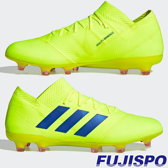 ネメシス 18.1 FG/AG アディダス(adidas) サッカースパイク ソーラーイエロー×フットボールブルー×アクティブレッドS19 (BB9426)【2019年2月アディダス】