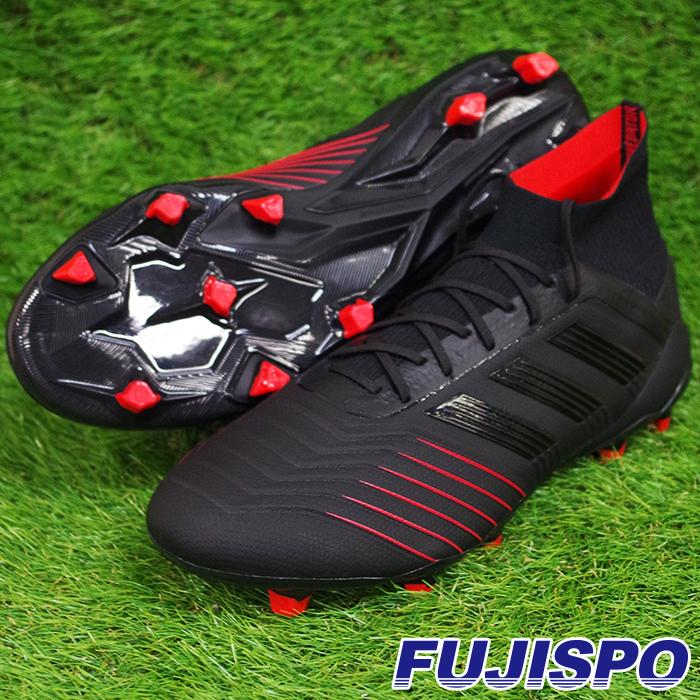 プレデター 19.1 FG/AG アディダス(adidas) サッカースパイク コアブラック×コアブラック×アクティブレッドS19 (BC0551)【2019年1月9日発売開始】【2019年1月アディダス】