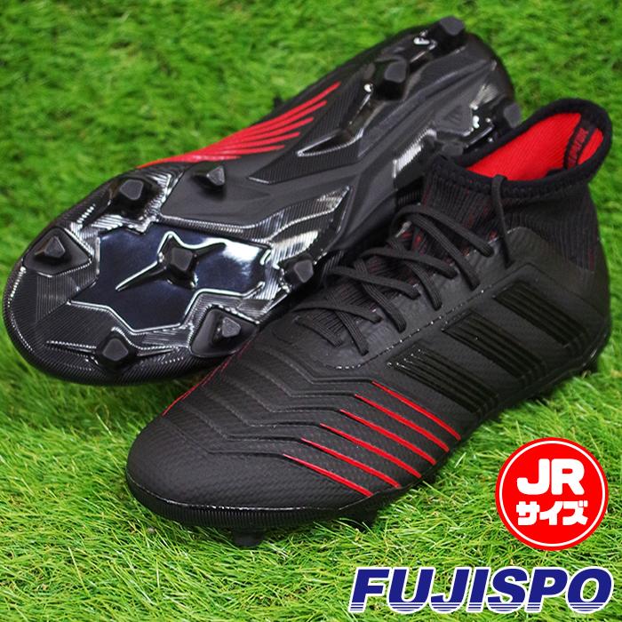 プレデター 19.1 FG/AG J アディダス(adidas) ジュニアサッカースパイク コアブラック×コアブラック×アクティブレッドS19 (D97997)【2019年1月9日発売開始】【2019年1月アディダス】