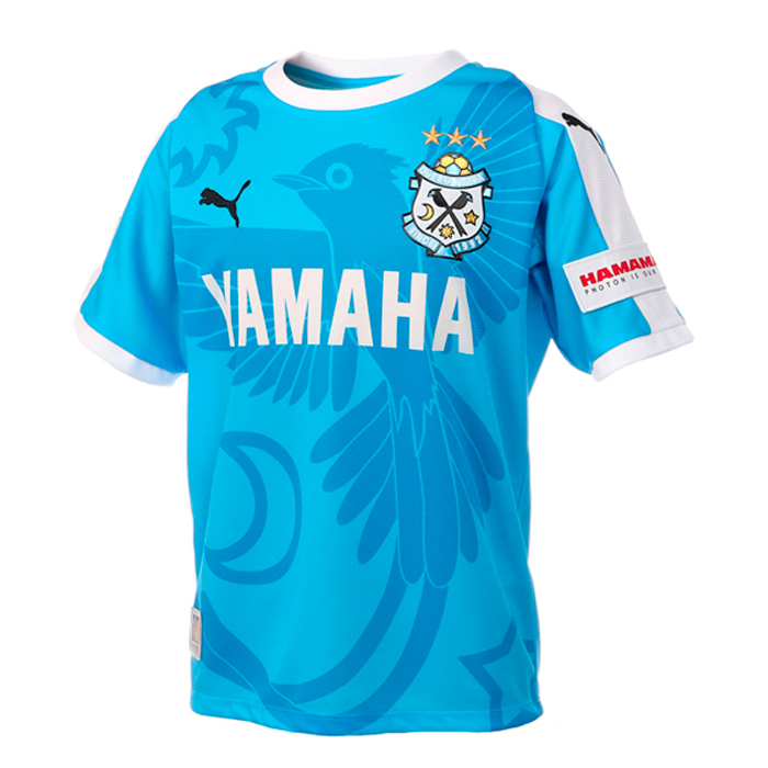 キッズ ジュビロ ジュニア ホーム SSシャツ(2018シーズンモデル) (920907)プーマ(PUMA) キッズ ジュニア レプリカウェア ジュビロ磐田