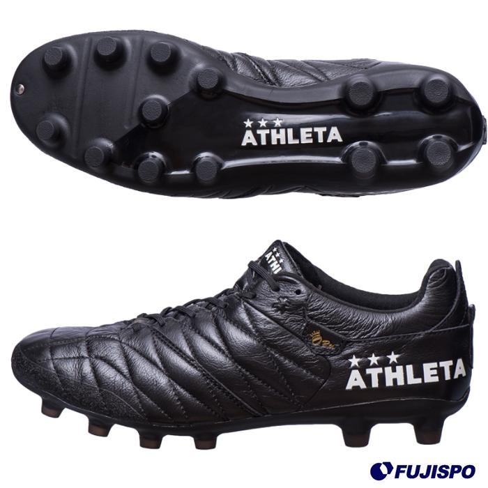 O-Rei Futebol A002 アスレタ(ATHLETA) サッカースパイク 70(ブラック) (10007-BLK)【2019年3月アスレタ】