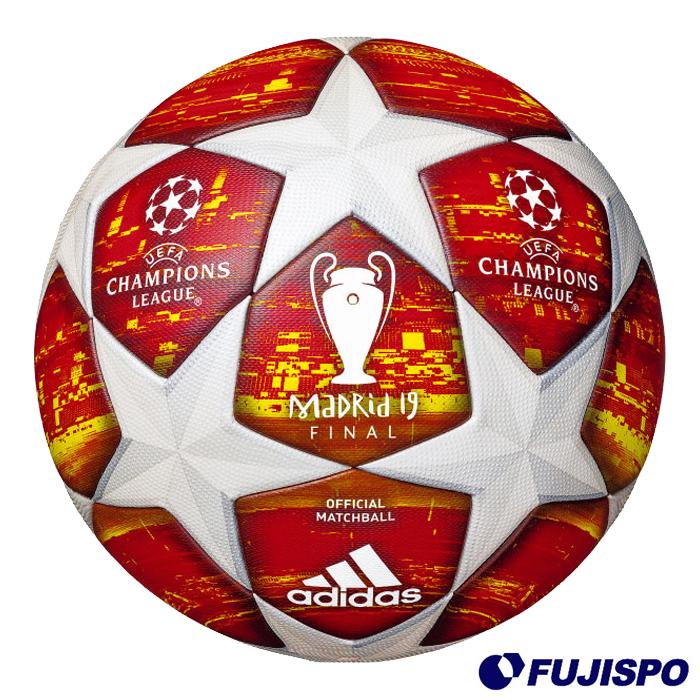 フィナーレ マドリード 試合球(AF5400MA) サッカーボール 5号 レッド×ホワイトアディダス(adidas)