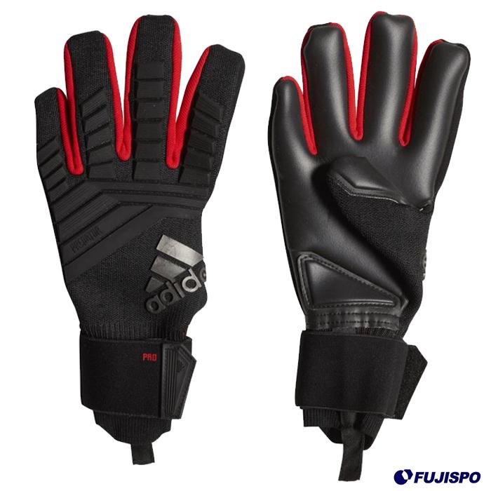 プレデター TRANS プロ(FME93-DN8578) キーパーグローブ キーパー手袋 ブラック×アクティブレッドS19アディダス(adidas)