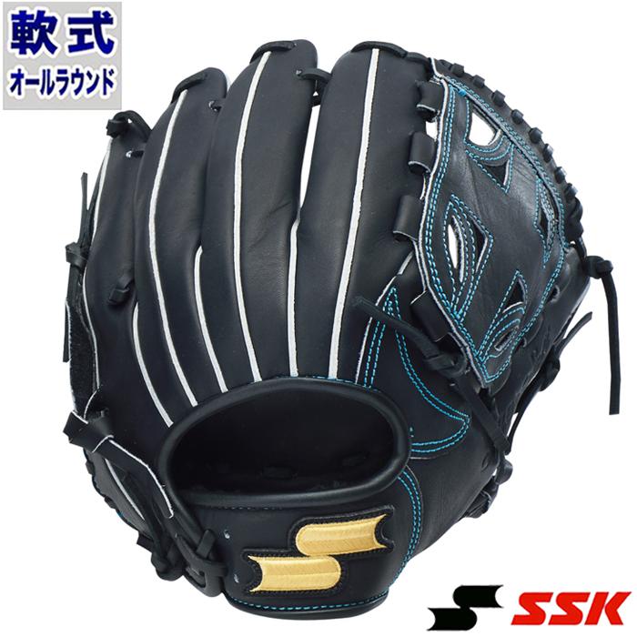 軟式 グラブ スーパーソフト オールラウンド エスエスケイ(SSK) 【野球・ソフト】 グローブ 右投げ (SSG940-71)