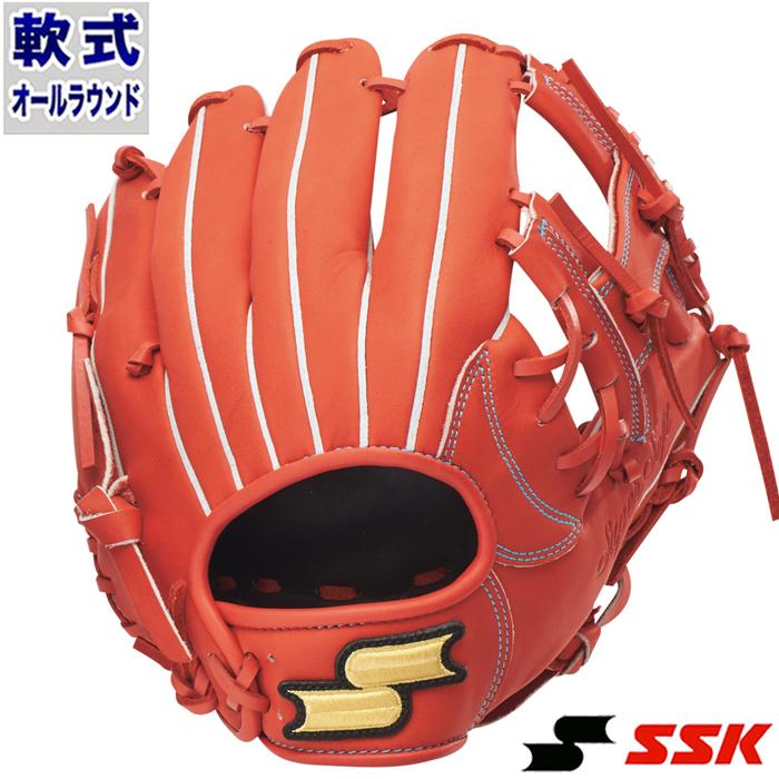 軟式 グラブ スーパーソフト オールラウンド エスエスケイ(SSK) 【野球・ソフト】 グローブ 右投げ (SSG950-33)