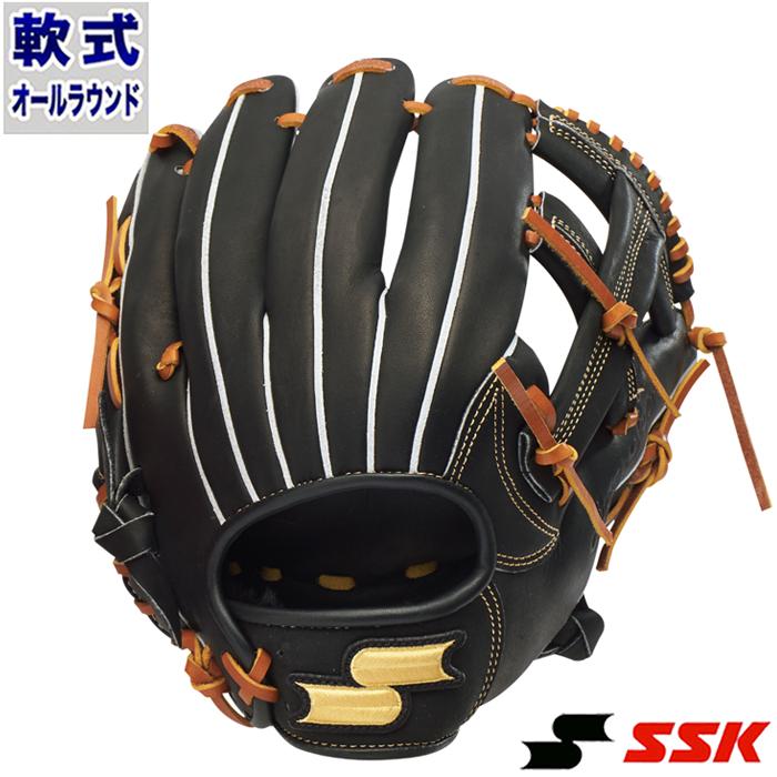 軟式 グラブ スーパーソフト オールラウンド エスエスケイ(SSK) 【野球・ソフト】 グローブ 右投げ (SSG960-9047)