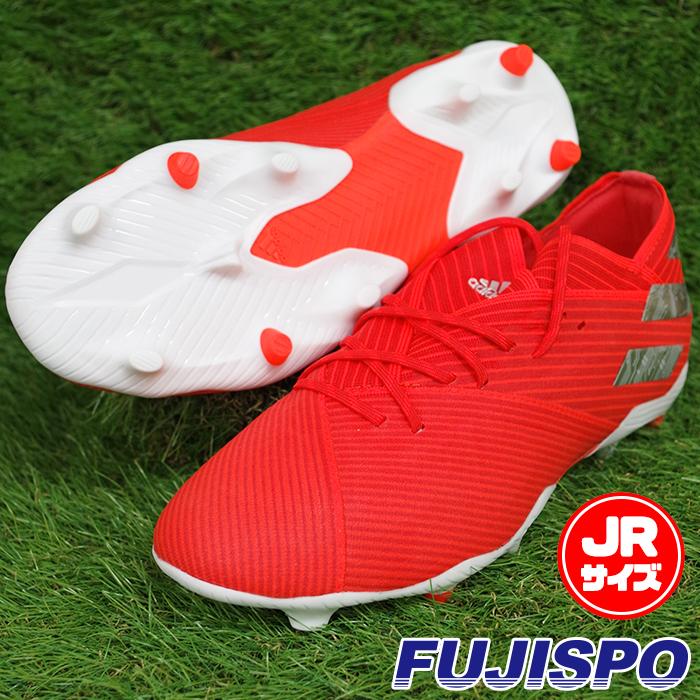 ネメシス 19.1 FG J アディダス(adidas) ジュニアサッカースパイク アクティブレッドS19×シルバーメット×ソーラーレッド (F99955)【2019年6月アディダス】