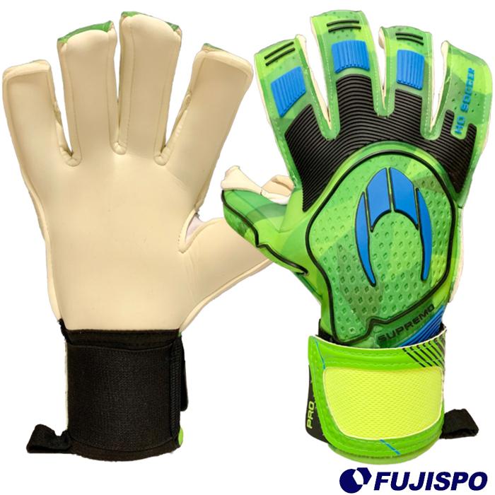 SUPREMO PRO II ROLL NEGATIVE PACIFIC GREEN(510730) キーパーグローブ キーパー手袋 グリーン エイチオーサッカー(HO SOCCER)