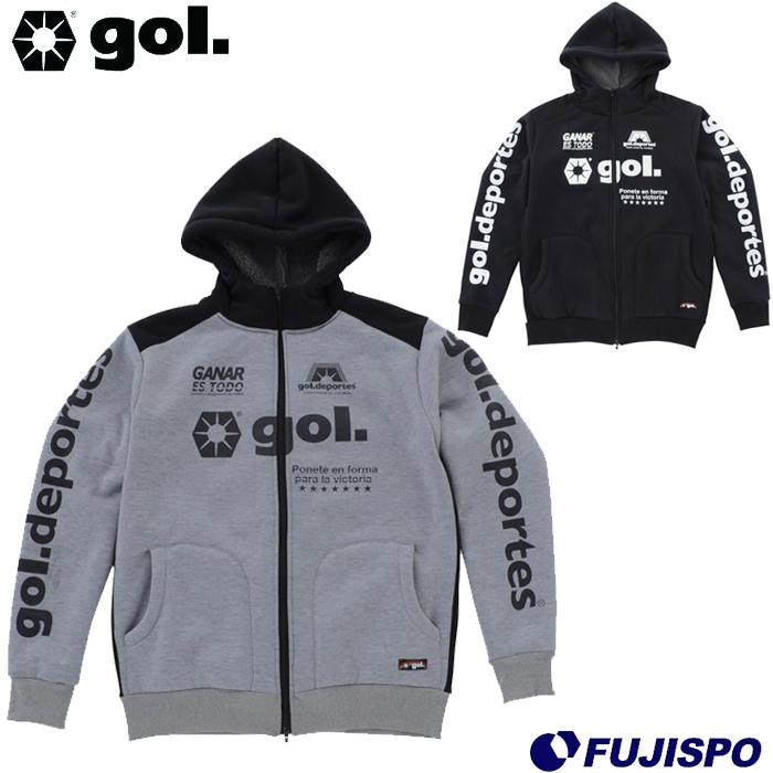 ボアパーカー (G991725)ゴル(gol.) スウェットパーカー スウェットジャケット スウェットトップ