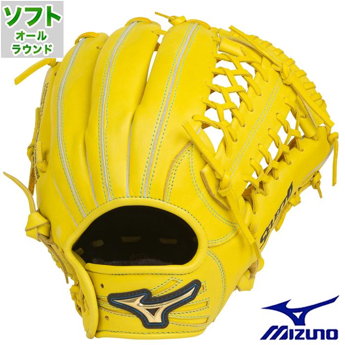 ソフトボール グラブ セレクトナイン オールラウンド ミズノ(mizuno) 【野球・ソフト】 グローブ 右投げ (1AJGS22720-40)