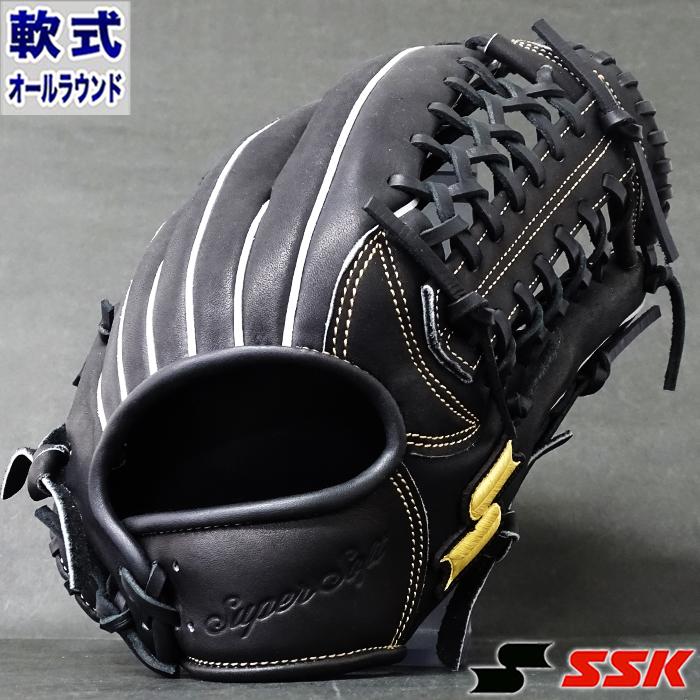 軟式 グラブ スーパーソフト オールラウンド エスエスケイ(SSK) 【野球・ソフト】 グローブ 右投げ (SSG207-90)