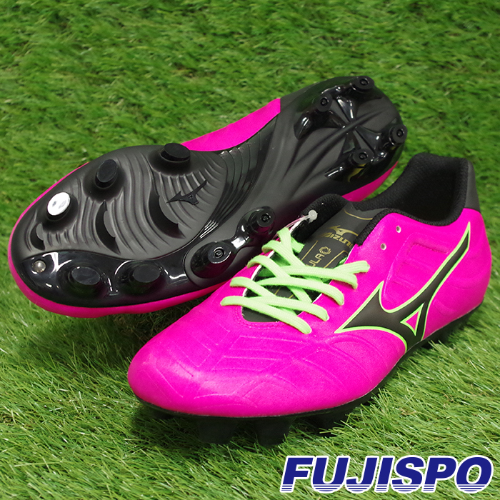 best wholesaler 9464e 91dc3 レビュラ V3   REBULA V3 (P1GA178564) Mizuno soccer spikes pink X black X light  ...