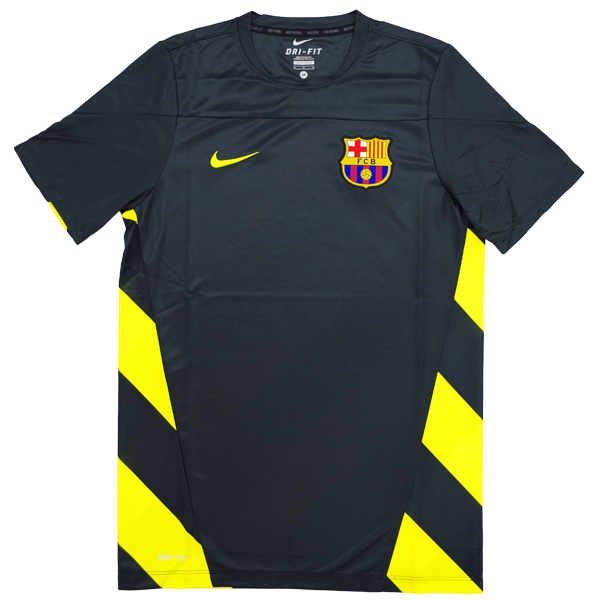 FC Barcelona 13-14 short sleeve practice shirt short sleeve training top (575707-010)