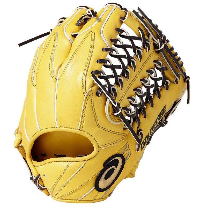 【あす楽対応】アシックス 野球 硬式グローブ 外野手用 グラブ ゴールドステージ スピードアクセル タイプA 右投げ BGH8SU 200カラー LH