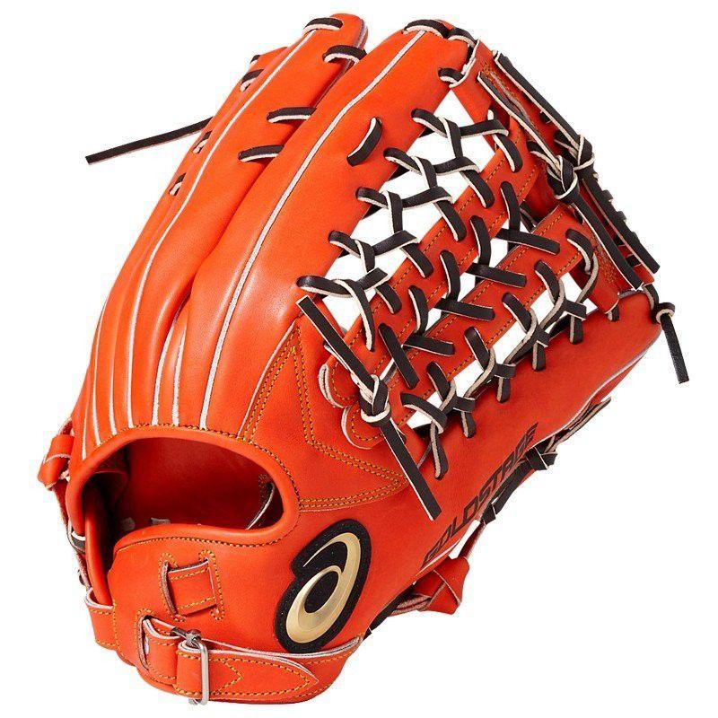 【あす楽対応】アシックス 野球 硬式グローブ 外野手用 グラブ ゴールドステージ スピードアクセル タイプF 右投げ BGH8TU 600カラー LH
