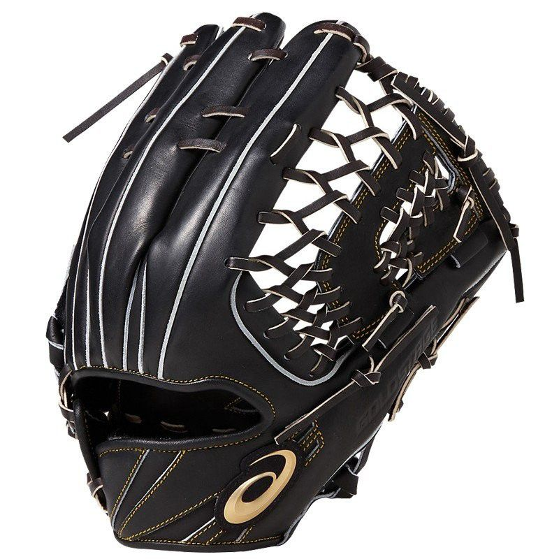 【あす楽対応】アシックス 野球 硬式グローブ 外野手用 グラブ ゴールドステージ スピードアクセル タイプE 右投げ BGH8UU 001カラー LH