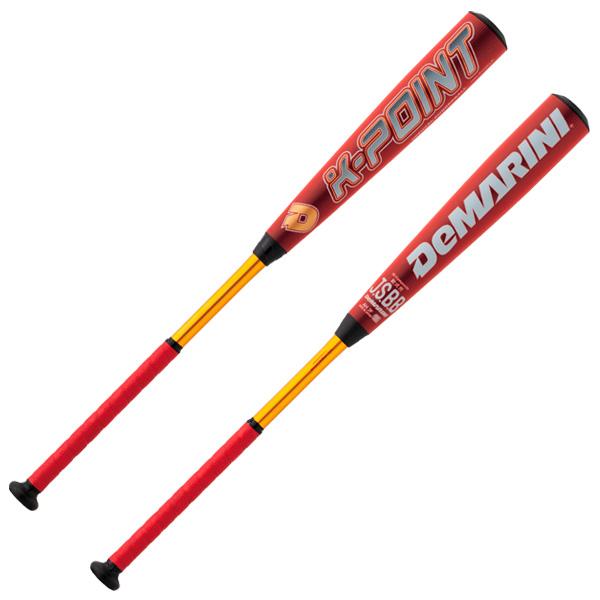 【先行予約商品】ディマリニ 一般軟式用 K-POINT ケーポイント トップバランス レッド×ゴールド カラー 野球 コンポジットバット WTDXJRSKP DeMARINI