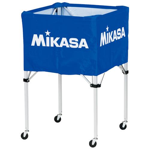 MIKASA ミカサ ボールカゴ 3点セット 箱型 大 ブルー BC-SP-H-BL 【取り寄せ品】