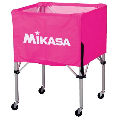 【3月1日限定全品ポイント2倍!】MIKASA ミカサ ボールカゴ 3点セット 箱型 大 ピンク BC-SP-H-P 【取り寄せ品】 ホワイトデー