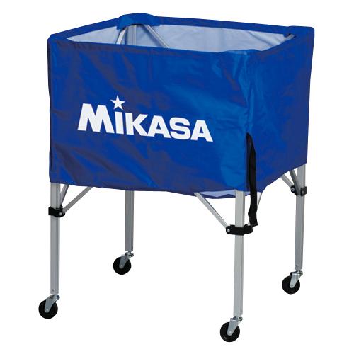 MIKASA ミカサ ボールカゴ 3点セット 箱型 中 ブルー BC-SP-S-BL 【取り寄せ品】