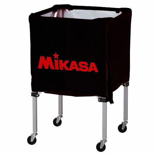 【期間限定!対象商品ポイント10倍】MIKASA ミカサ ボールカゴ 3点セット 箱型 小 ブラック BC-SP-SS-BK 【取り寄せ品】