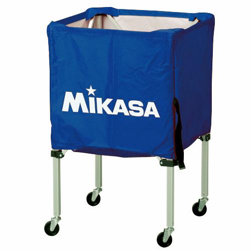 【LINE@友だち登録で200円OFFクーポン配布中!】MIKASA ミカサ ボールカゴ 3点セット 箱型 小 ブルー BC-SP-SS-BL 【取り寄せ品】 送料無料