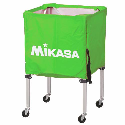 MIKASA ミカサ ボールカゴ 3点セット 箱型 小 ライトグリーン BC-SP-SS-LG 【取り寄せ品】