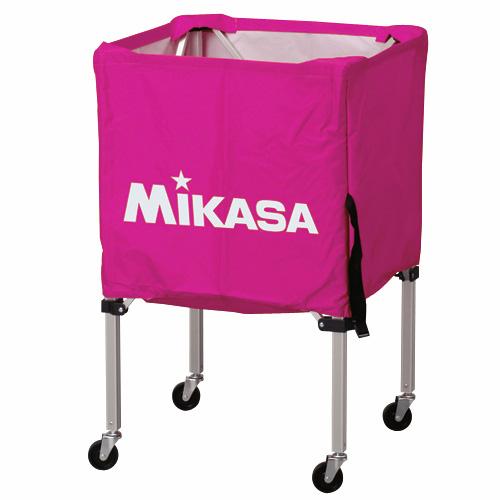 【3月1日限定全品ポイント2倍!】MIKASA ミカサ ボールカゴ 3点セット 箱型 小 バイオレット BC-SP-SS-V 【取り寄せ品】 ホワイトデー