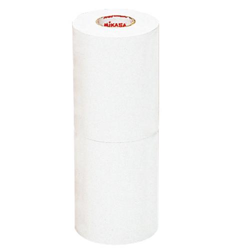 こちらの商品は 他の商品と同梱できません ラインテープ PVC 新発売 ホワイト 10cm幅 2巻入 白 LTV-100-W 取り寄せ品 ハイクオリティ ミカサ 伸びるタイプ MIKASA
