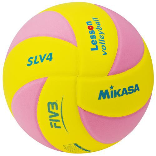 こちらの商品は 人気ブランド多数対象 他の商品と同梱できません レッスン バレー EVA 期間限定 約160g 黄 ピンク 4号 取り寄せ品 レッスンバレー4号 SLV4-YP ミカサ バレーボール MIKASA