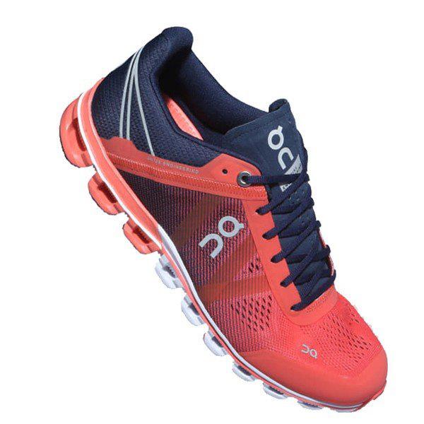 【あす楽対応】 オン on ランニングシューズ レディース Cloudflow クラウドフロー 1599964W Crimson&Midnightカラー 靴