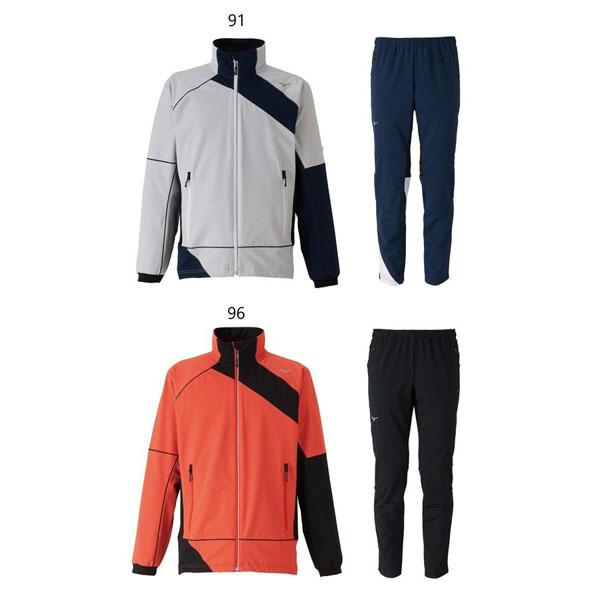 【クロスカントリースキー店舗】 ミズノ MIZUNO オーバージャージ ジュニア ウインタートレーニングジャケット/パンツ上下セット Z2MC9420/Z2MD9420 2019-2020モデル