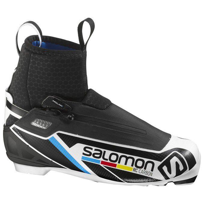 【クロスカントリースキー店舗】 SALOMON サロモン クロスカントリースキー ブーツ プロリンク RC カーボン 390838 16-17モデル