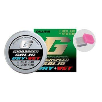 【クロスカントリースキー店舗】 GALLIUM ガリウム WAX GIGA SPEED ソリッド ドライ&ウェット(各5g) GS2203 キャッシュレス・消費者還元事業 5%