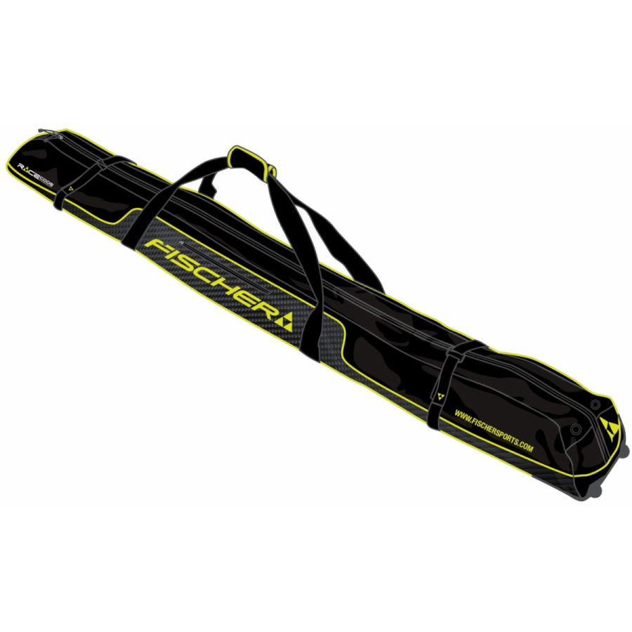 【クロスカントリースキー店舗】 FISCHER フィッシャー クロスカントリースキー スキーケース  スキーケース5台用 ホイール付き Z02815