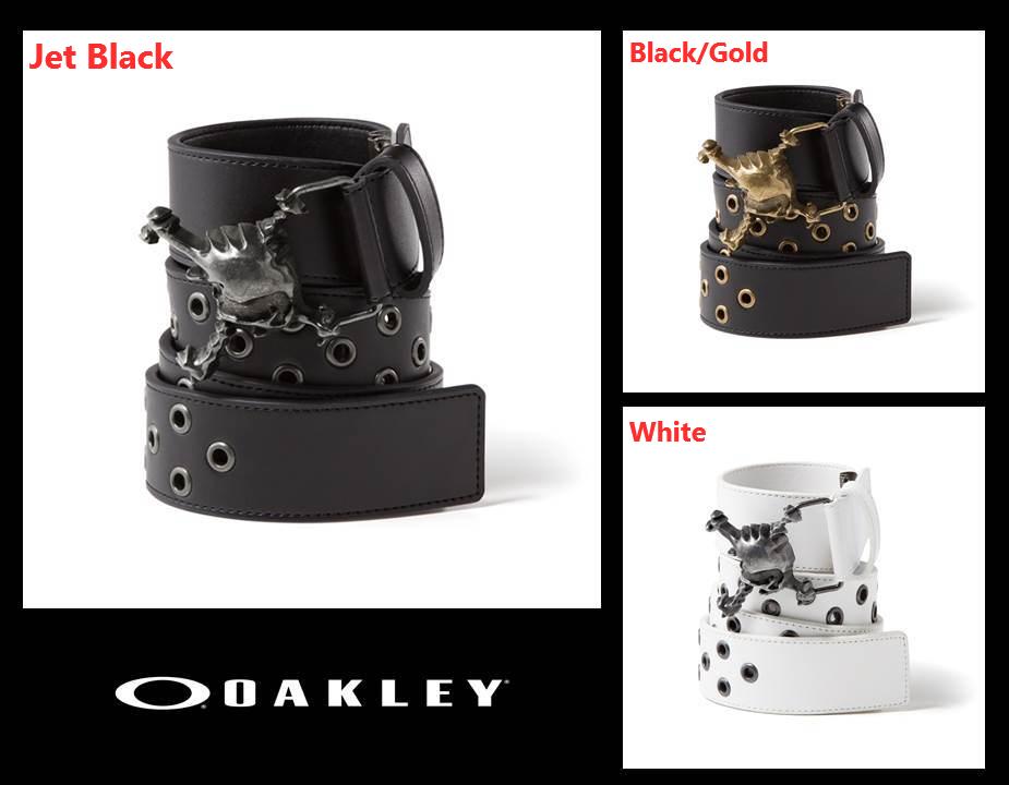 15SS OAKLEY 3D SKULL BELT 【96168JP】